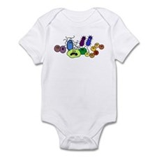 I Love Bacteria Too! Infant Bodysuit