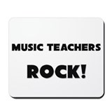 Music Teachers ROCK Mousepad