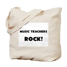 Music Teachers ROCK Tote Bag