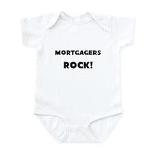 Mortgagers ROCK Infant Bodysuit
