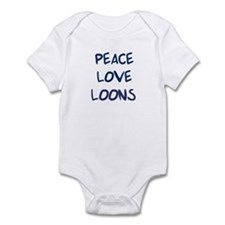 Peace, Love, Loons Infant Bodysuit