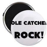 "Mole Catchers ROCK 2.25"" Magnet (10 pack)"