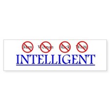 Intelligent Bumper Bumper Sticker
