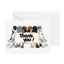 N6 Thank You Greeting Cards (Pk of 10)