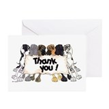 N6 Thank You Greeting Cards (Pk of 20)