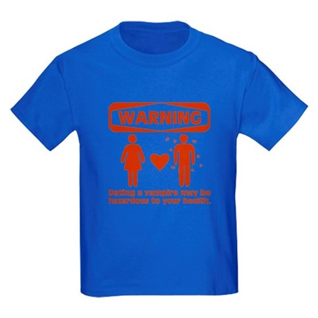 Warning Kids Dark T-Shirt