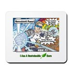 Sustainable Hero Comic Mousepad
