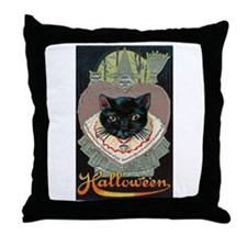 Charms of Halloween Throw Pillow
