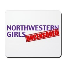 Cute Northwestern Mousepad