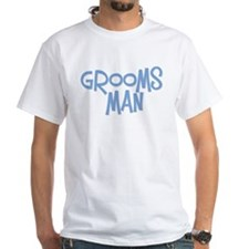 Hipster Groomsman: Blue Shirt