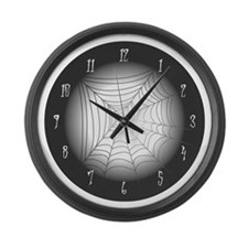 SpiderwebLarge Wall Clock