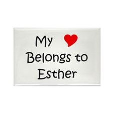 Unique Esther Rectangle Magnet (100 pack)