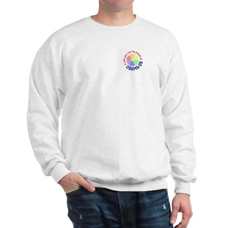 Pocket Proud of Obama Vote Sweatshirt