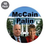 "McCain Palin 3.5"" Button (10 pack)"