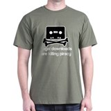 Legal downloads are killing p T-Shirt