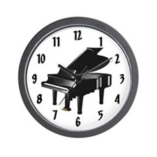Pianist Wall Clock
