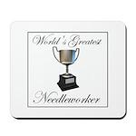 World's Greatest Needleworker Mousepad
