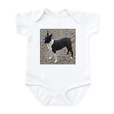 Boston Terrier Pup2 Infant Creeper