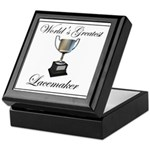 World's Greatest Lacemaker Keepsake Box