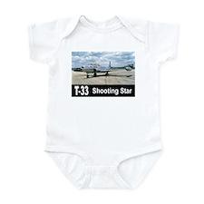 T-33 SHOOTING STAR Infant Bodysuit