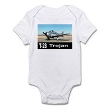 T-28 TROJAN AIRCRAFT Infant Bodysuit