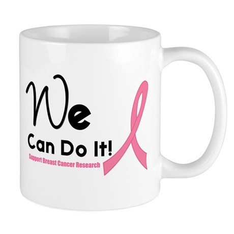 We Can Do It Breast Cancer Mug