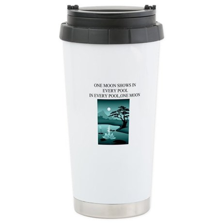 zen buddhist gifts and t0shir Ceramic Travel Mug