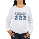 Chicago 26.2 Marathoner Women's Long Sleeve T-Shir
