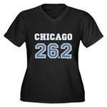Chicago 26.2 Marathoner Women's Plus Size V-Neck D