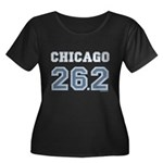 Chicago 26.2 Marathoner Women's Plus Size Scoop Ne