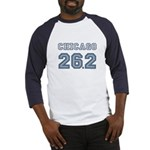 Chicago 26.2 Marathoner Baseball Jersey