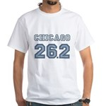 Chicago 26.2 Marathoner White T-Shirt