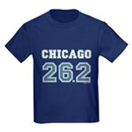 Chicago 26.2 Marathoner Kids Dark T-Shirt