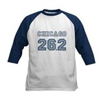 Chicago 26.2 Marathoner Kids Baseball Jersey