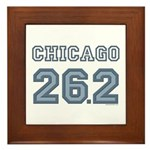 Chicago 26.2 Marathoner Framed Tile