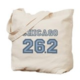 Chicago 26.2 Marathoner Tote Bag