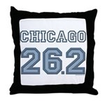 Chicago 26.2 Marathoner Throw Pillow