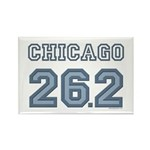 Chicago 26.2 Marathoner Rectangle Magnet (100 pack