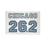 Chicago 26.2 Marathoner Rectangle Magnet