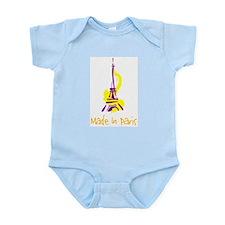 """Made in Paris"" Infant Creeper"