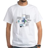 Couped model T-shirt