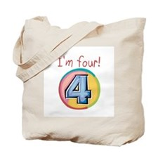 I'm Four Tote Bag