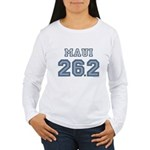 Maui 26.2 Marathoner Women's Long Sleeve T-Shirt
