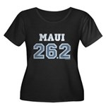Maui 26.2 Marathoner Women's Plus Size Scoop Neck