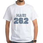 Maui 26.2 Marathoner White T-Shirt