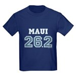 Maui 26.2 Marathoner Kids Dark T-Shirt