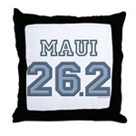 Maui 26.2 Marathoner Throw Pillow
