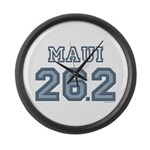 Maui 26.2 Marathoner Large Wall Clock
