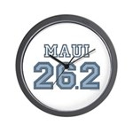 Maui 26.2 Marathoner Wall Clock