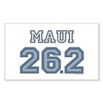 Maui 26.2 Marathoner Rectangle Sticker 50 pk)